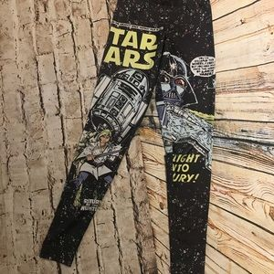 Star Wars Comic Book Space Battle Leggings
